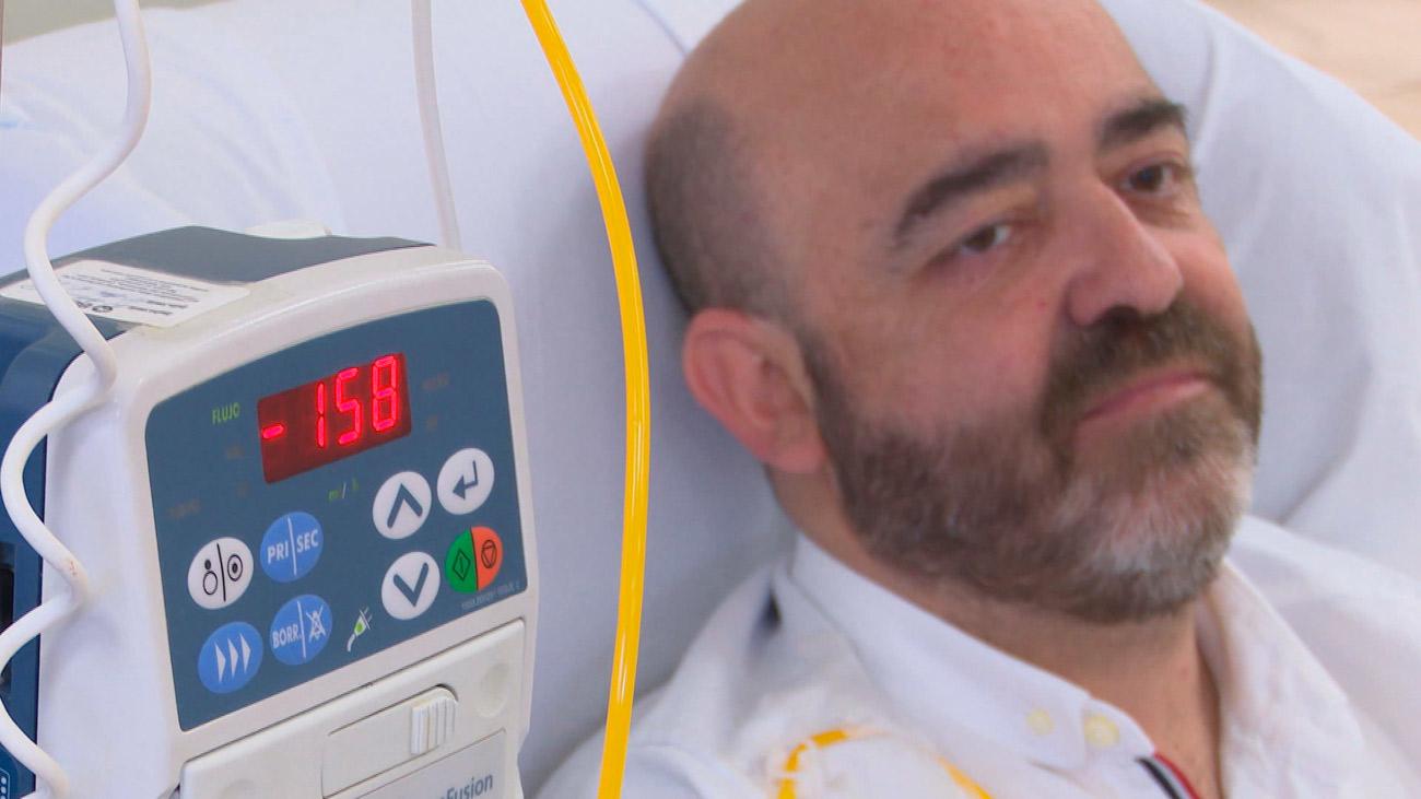 Alejandro, un luchador incansable contra el cáncer