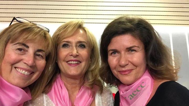 Nieves, Charo y Margarita, contra el cáncer de mama