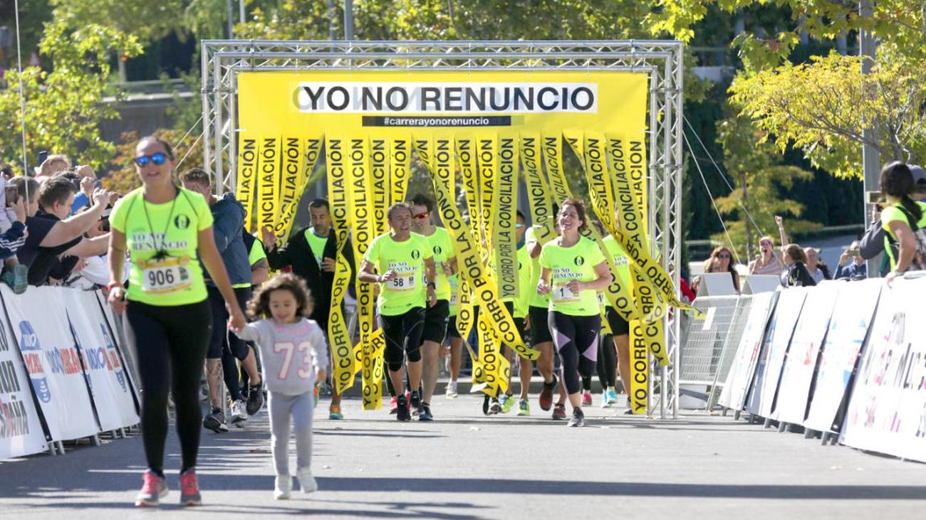 5.000 mujeres corren en Alcobendas por la conciliación
