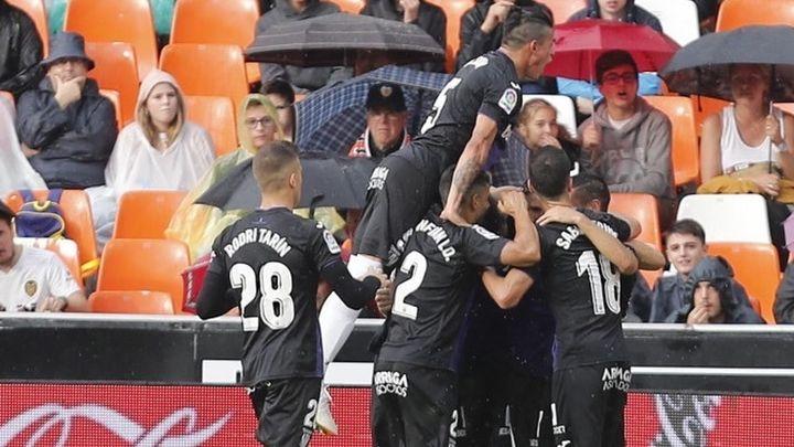 Gol de Gumbau al Valencia