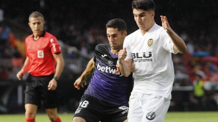1-1. El Leganés saca un punto de oro de Valencia