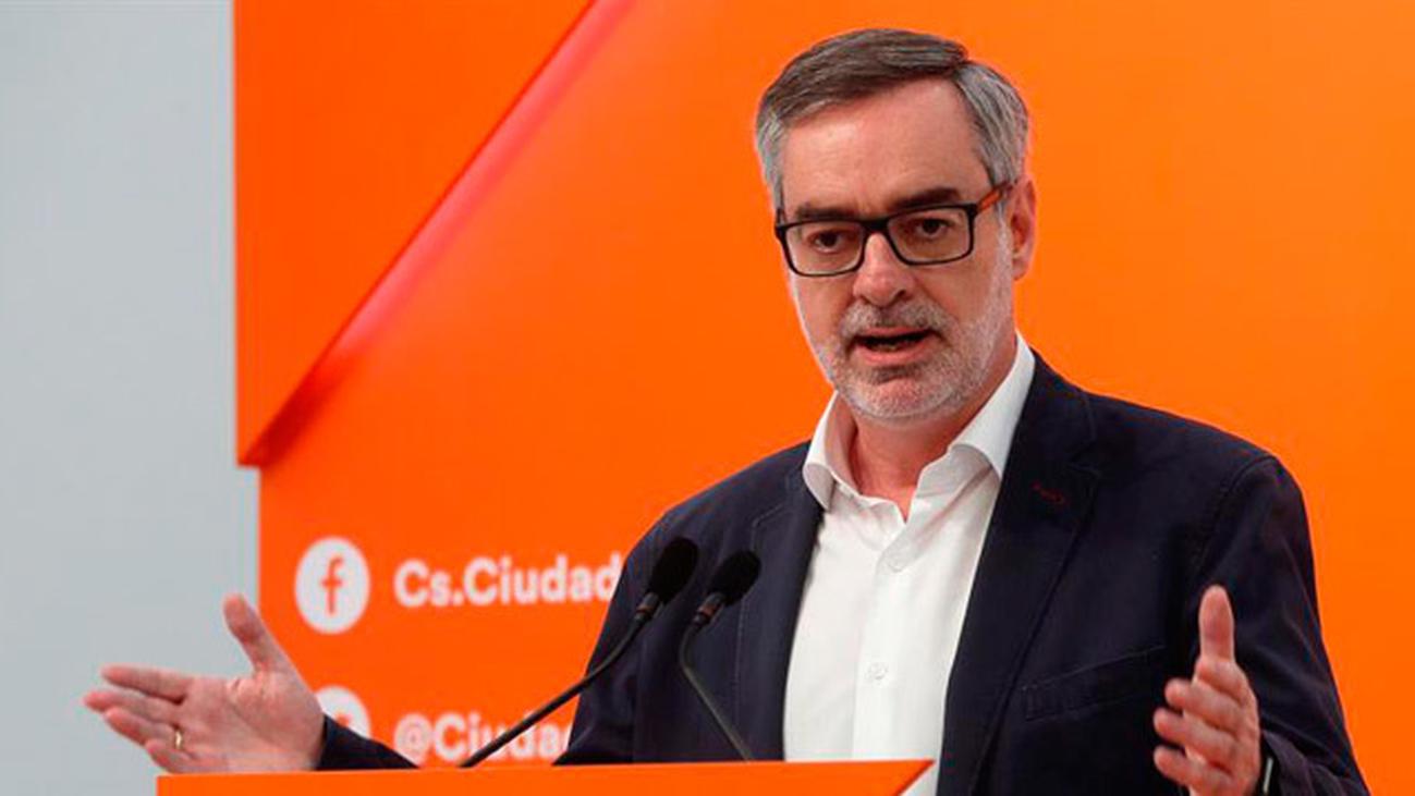 "Villegas (Cs) cree que Sánchez ""sería capaz de cometer  ilegalidades"""