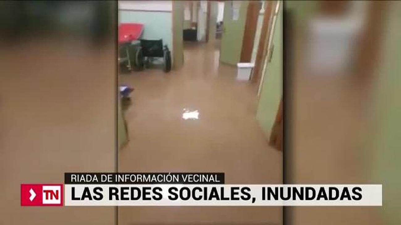 Los vecinos de Málaga inundan las redes sociales de información