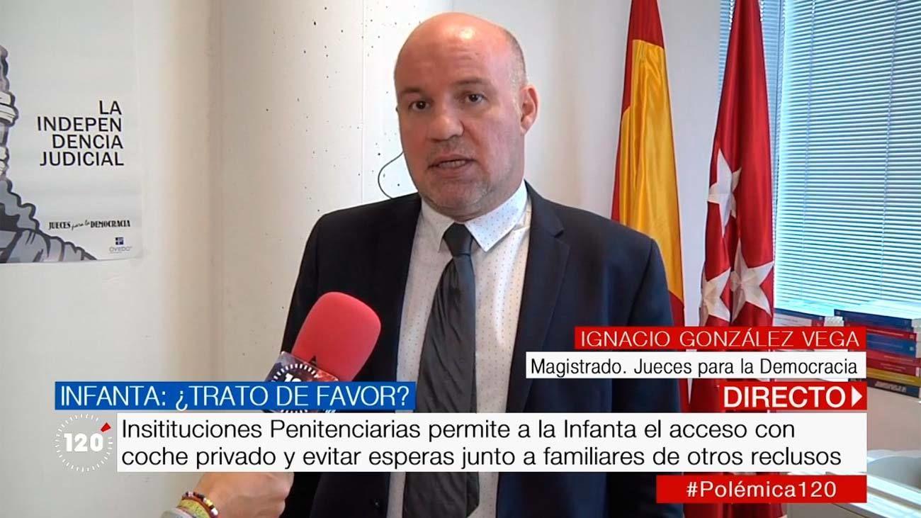 ¿Trato de favor en las visitas de la infanta Cristina a Urdangarin en la cárcel de Brieva?
