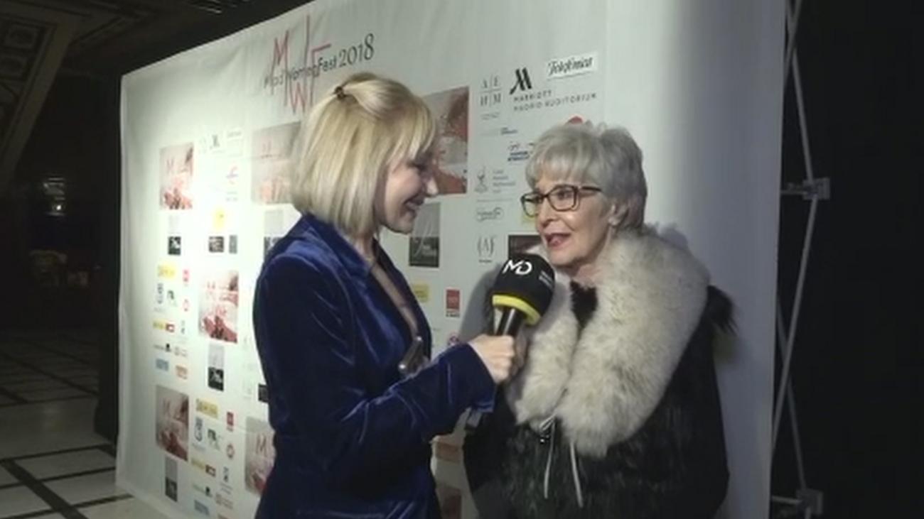 Concha Velasco, premiada por su destacada trayectoria en el teatro