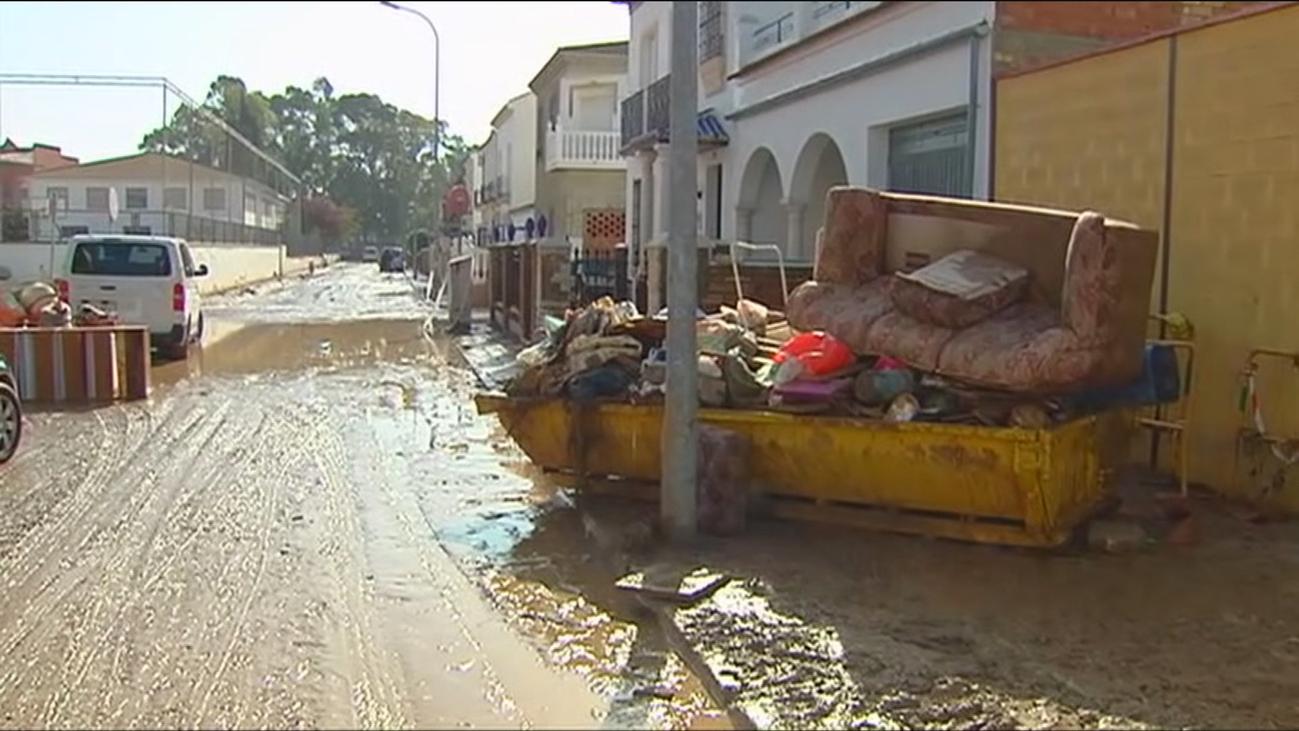 Alpandeire recogió 289 litros en seis horas, el mayor dato de lluvia en España