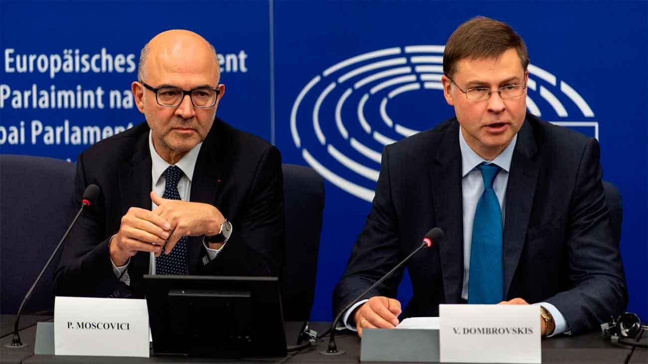 La Comisión Europea tumba el presupuesto de Italia y reclama uno nuevo en 3 semanas