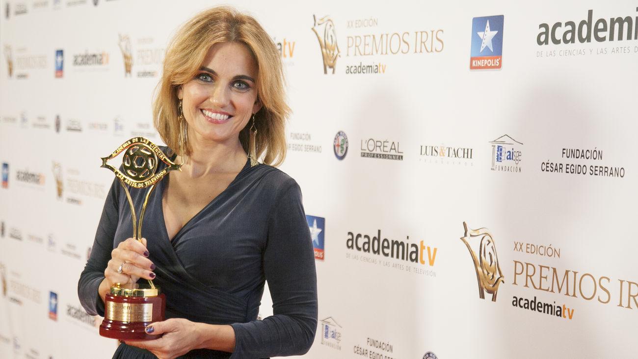 Lourdes Maldonado, presentadora de 'Telenoticias 1'.