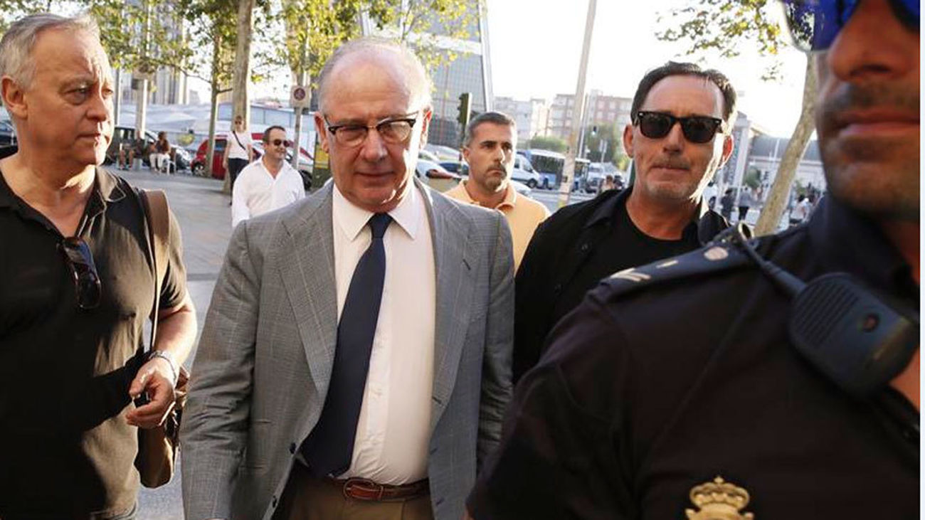 La Audiencia Nacional rechaza suspender la entrada  en prisión de Rato