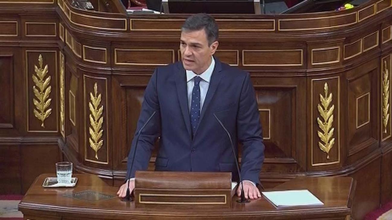 Sánchez justifica la venta de armas a Arabia Saudí en defensa de los intereses de España