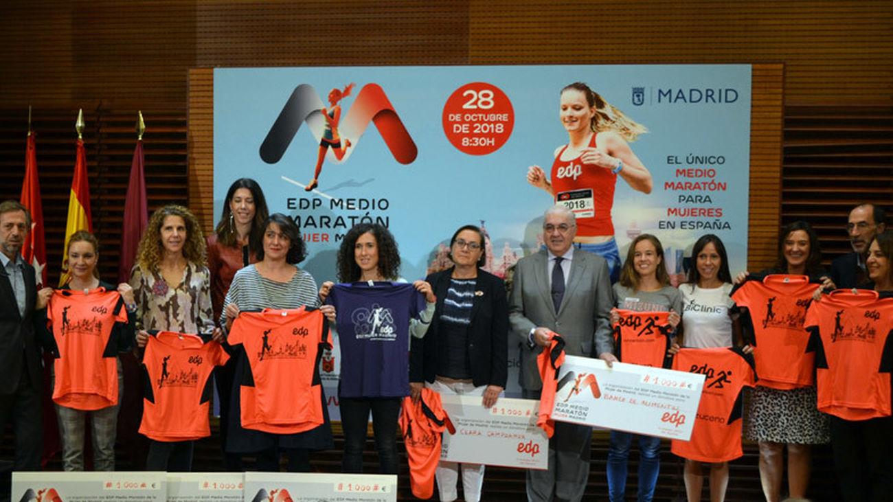 3ª Medio Maratón de la mujer de Madrid 2018