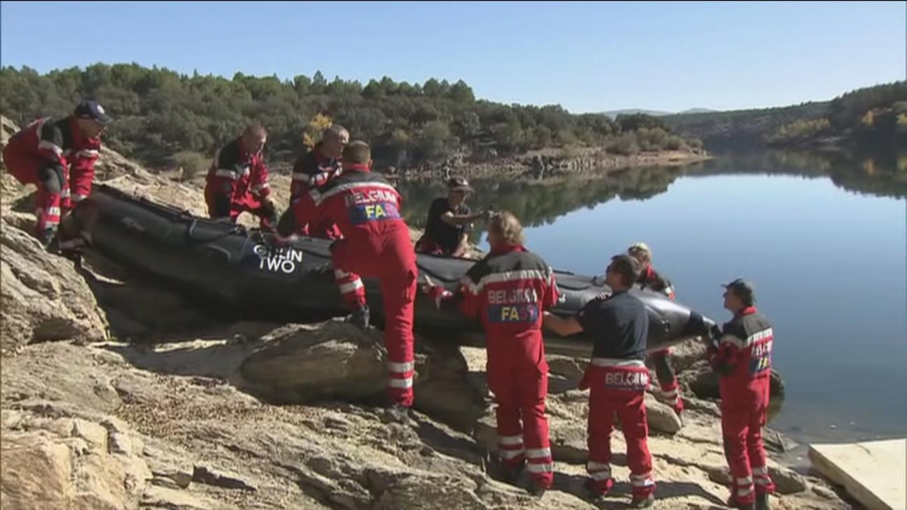 Emergencias enseña en Buitrago cómo actuar tras la rotura de una presa