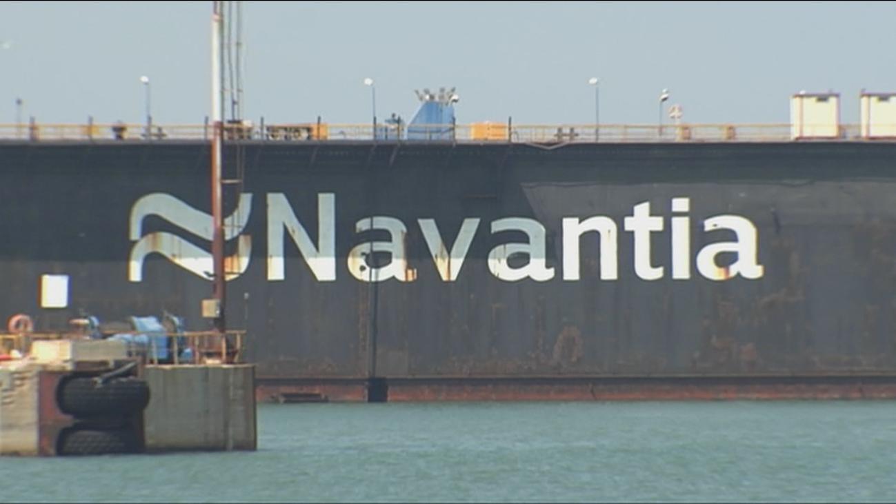 Respiro en Navantia al quedar garantizados los contratos