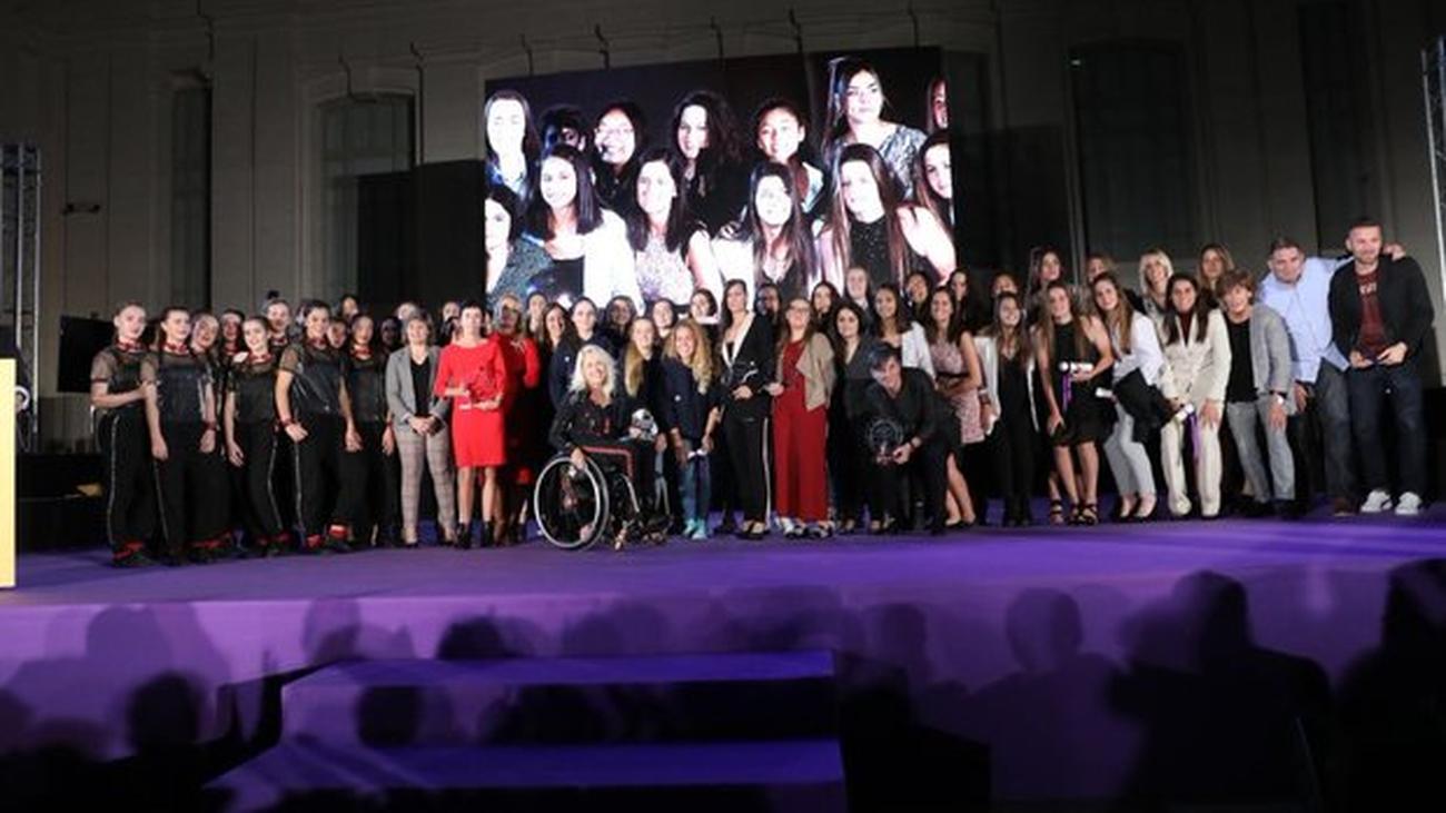 Madrid celebra una gala para visibilizar a las mujeres deportistas