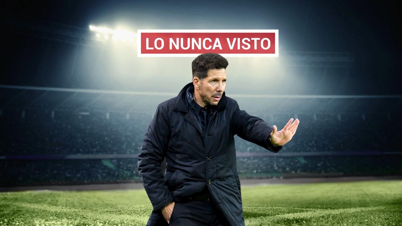 La peor derrota del Atlético de Simeone