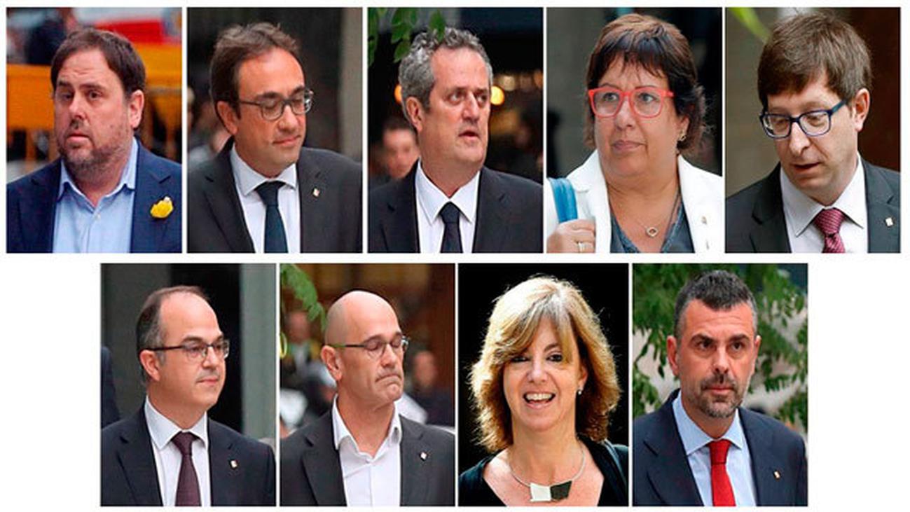 """El Supremo abre juicio oral contra 18 políticos independentistas por el """"procés"""""""