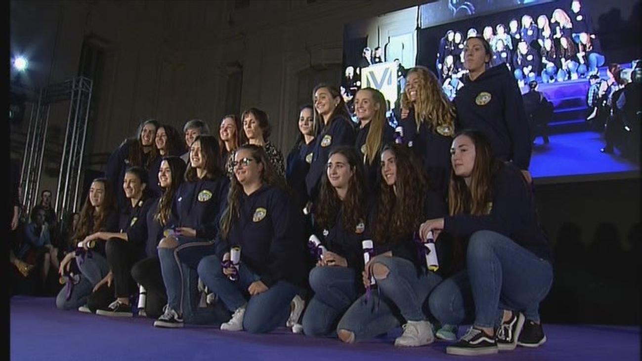 La 'Concha', galadonada en la I Gala de Mujeres Deportistas