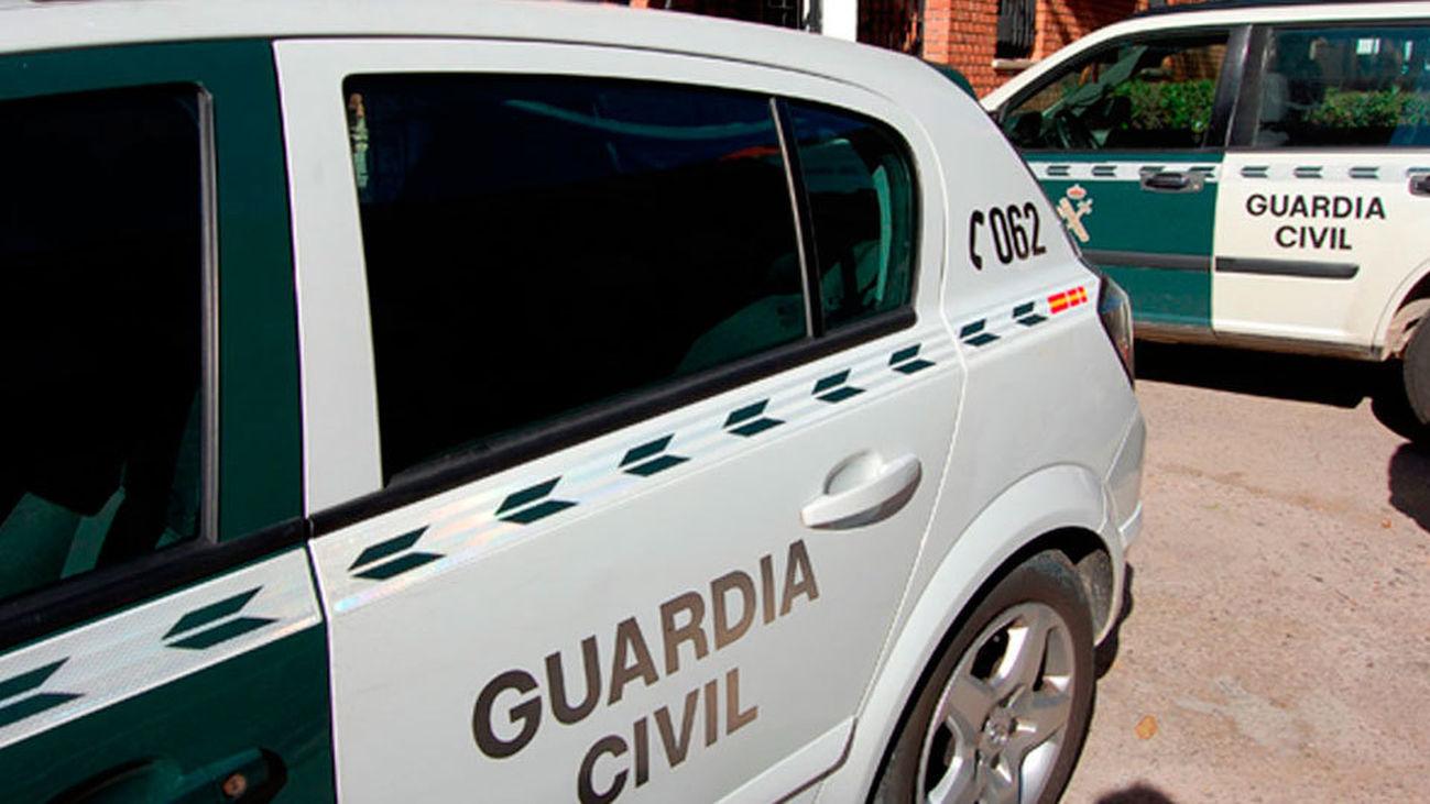 La Guardia Civil detiene a cuatro jóvenes en Collado Villalba