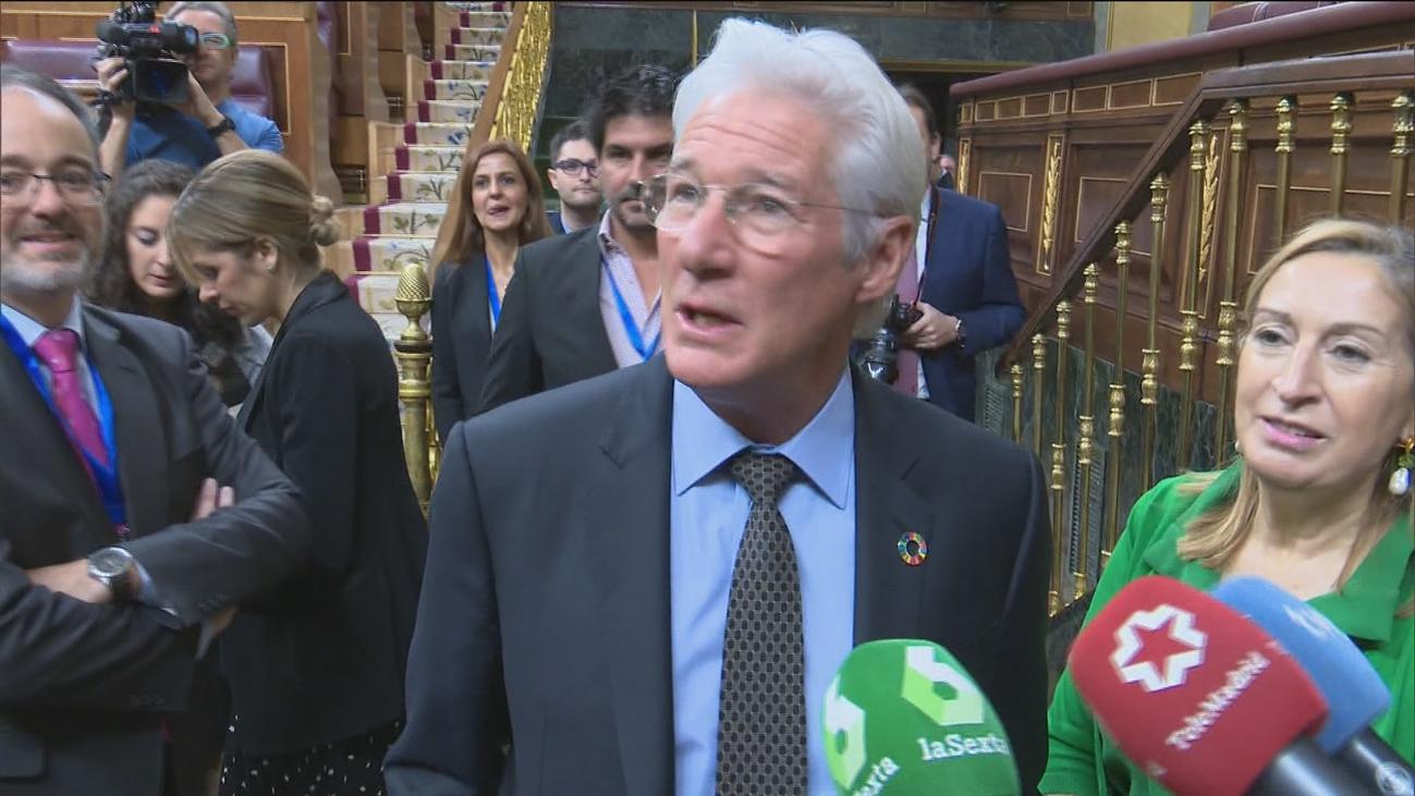 Richard Gere señala que España puede ser ejemplo en el mundo para erradicar el 'sinhogarismo'