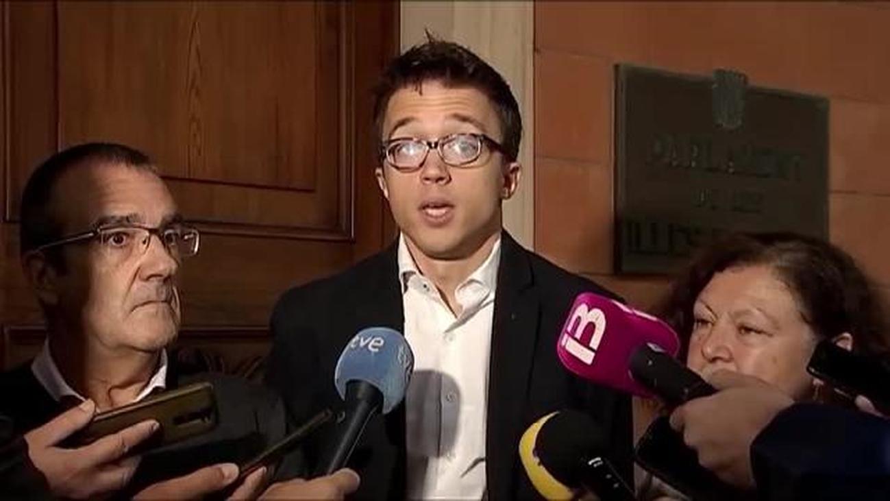 Errejón afirma que PP y Ciudadanos piensan como Vox pero no lo dicen