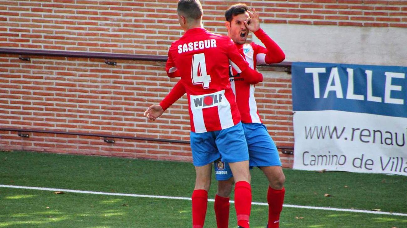 3-2. Triunfo del Navalcarnero frente al Valladolid B
