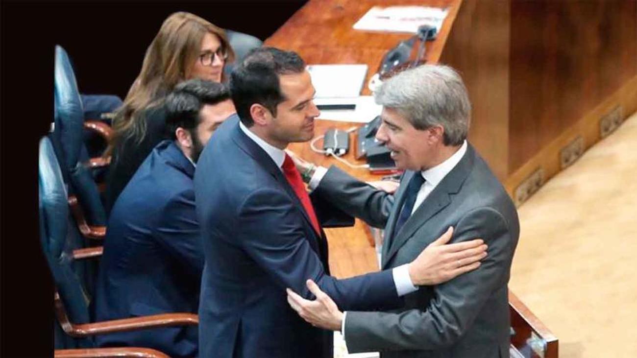Garrido y Aguado anunciarán hoy el acuerdo sobre los Presupuestos de 2019