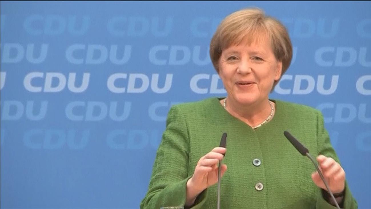 Merkel dejará la presidencia de la CDU y no optará a reelección como Canciller
