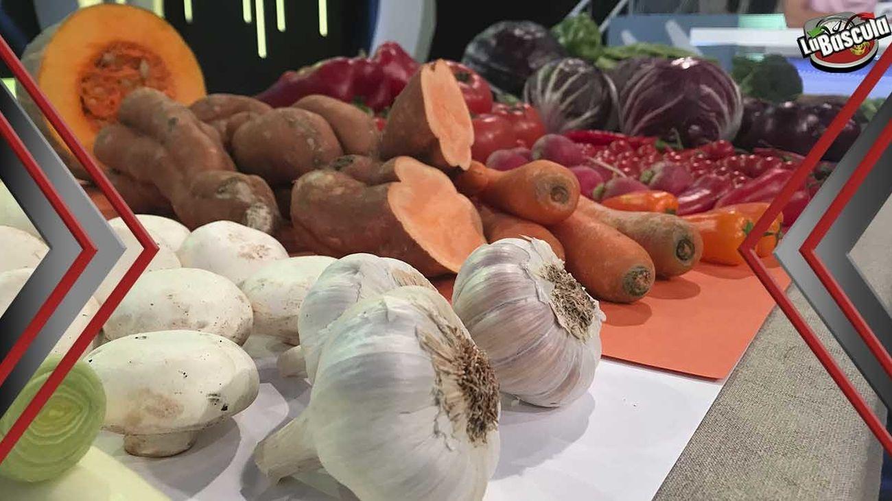 Las propiedades de las verduras según el color