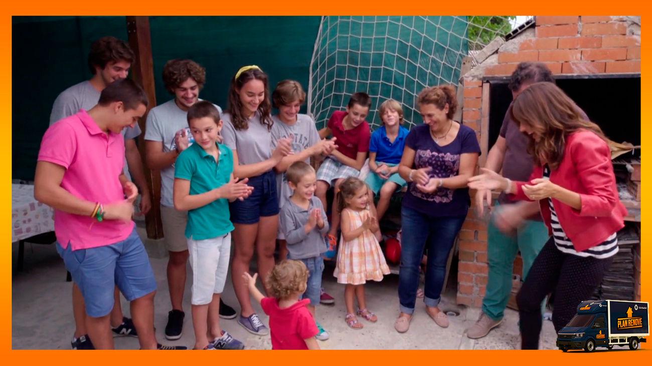 Jugamos a Plan Renove con una familia de 14 miembros