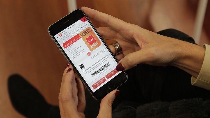 Una aplicación para llevar el carnet de familia numerosa en el móvil