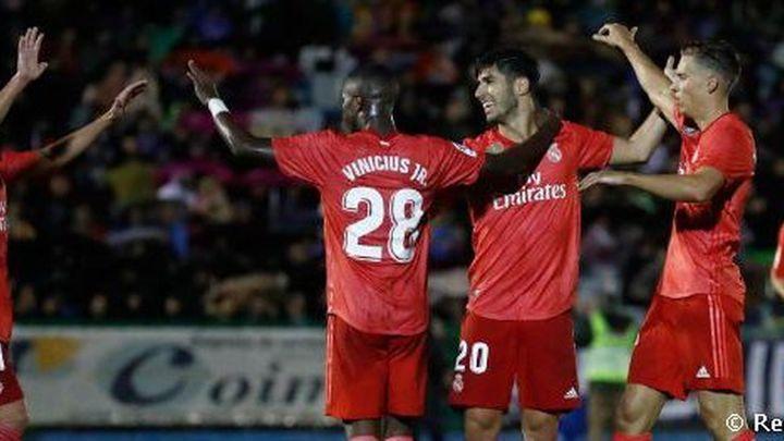 0-4. El 'nuevo' Real Madrid de Solari sentencia en Melilla