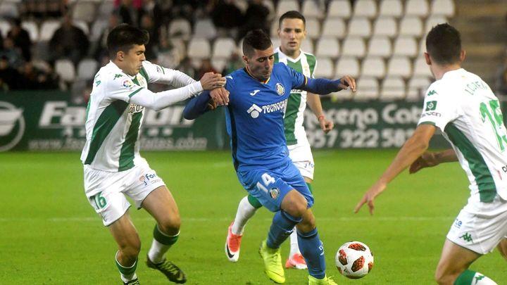 1-2. Mata sella la victoria del Getafe en Córdoba
