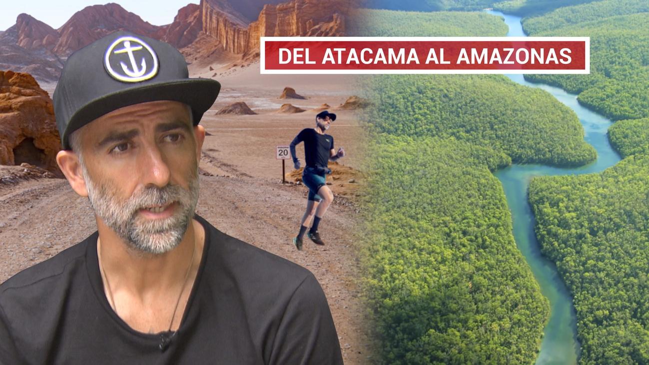 Rubén López cruza el Desierto de Atacama por una noble causa