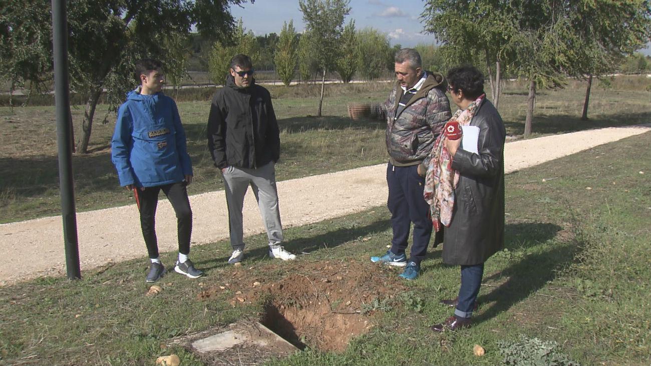 Denuncian el robo de cobre en el barrio de Espartales (Alcalá)
