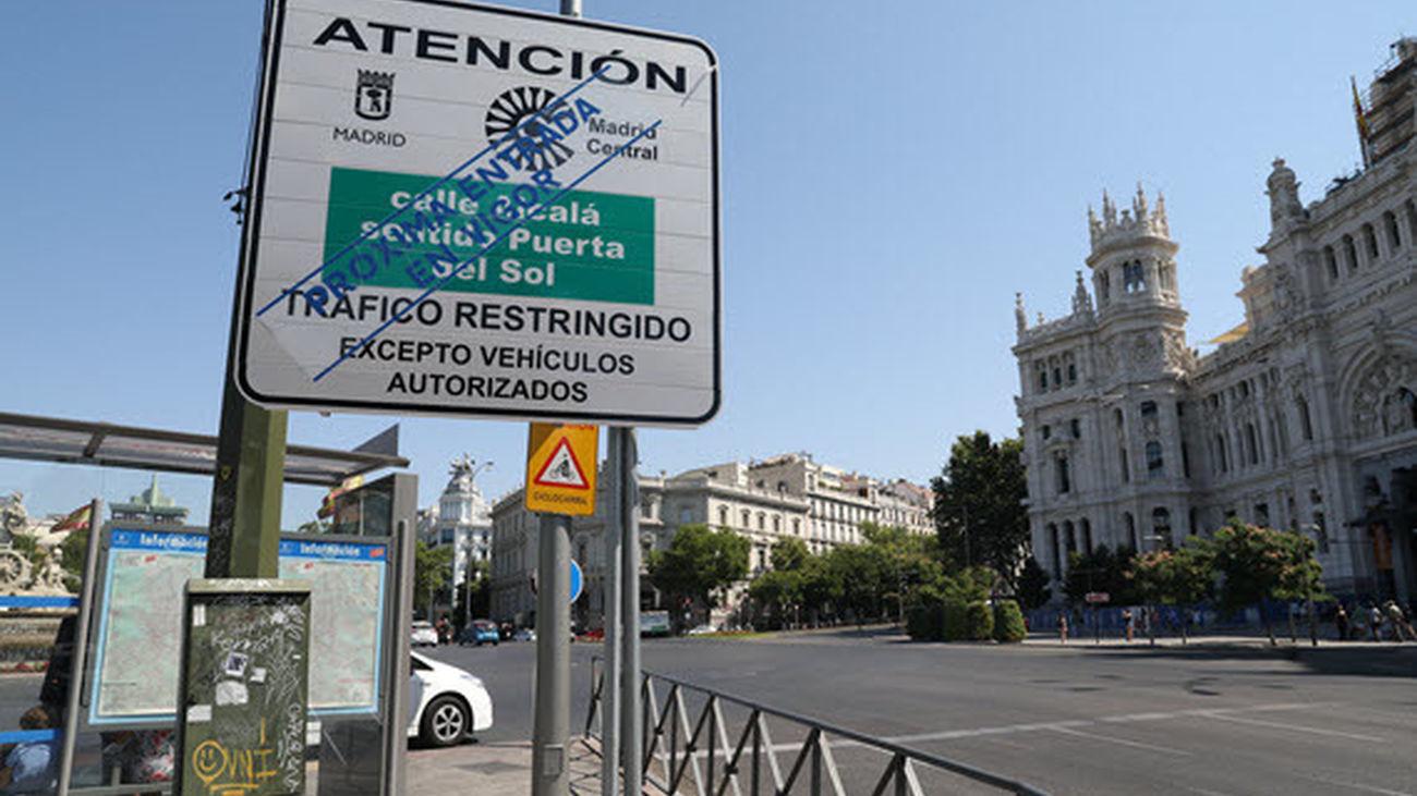 PP y Ciudadanos plantean esta semana la paralización de Madrid Central