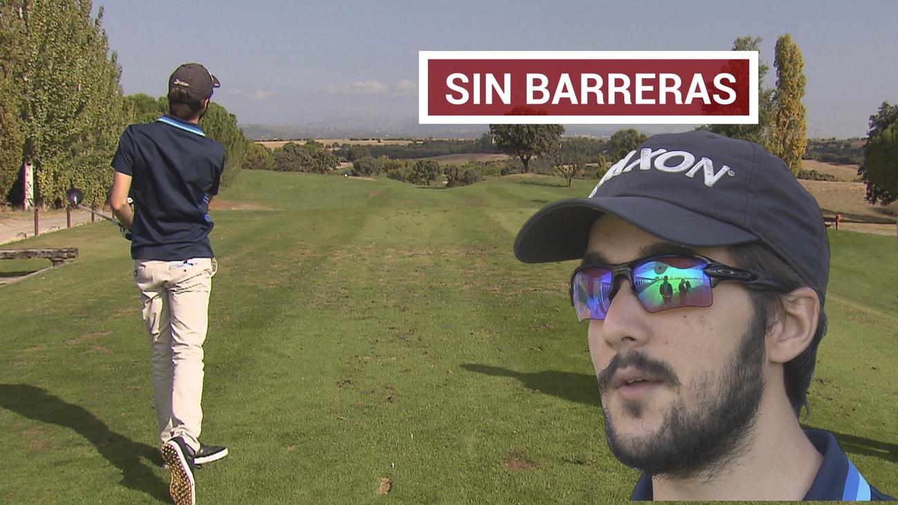 Alejandro de Miguel perdió la vista, pero no la ilusión por el golf