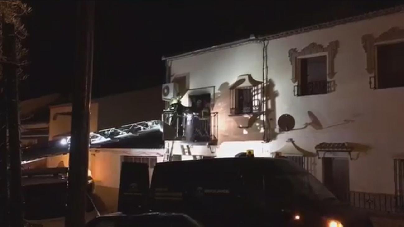 Un brasero provocó el incendio de Arriate en el que han muerto padre e hijo