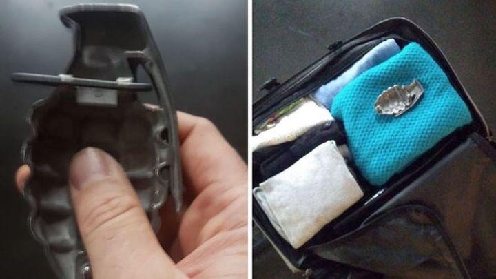 La hebilla de un cinturón con forma de granada provoca el desalojo de las estaciones de Atocha y Sants