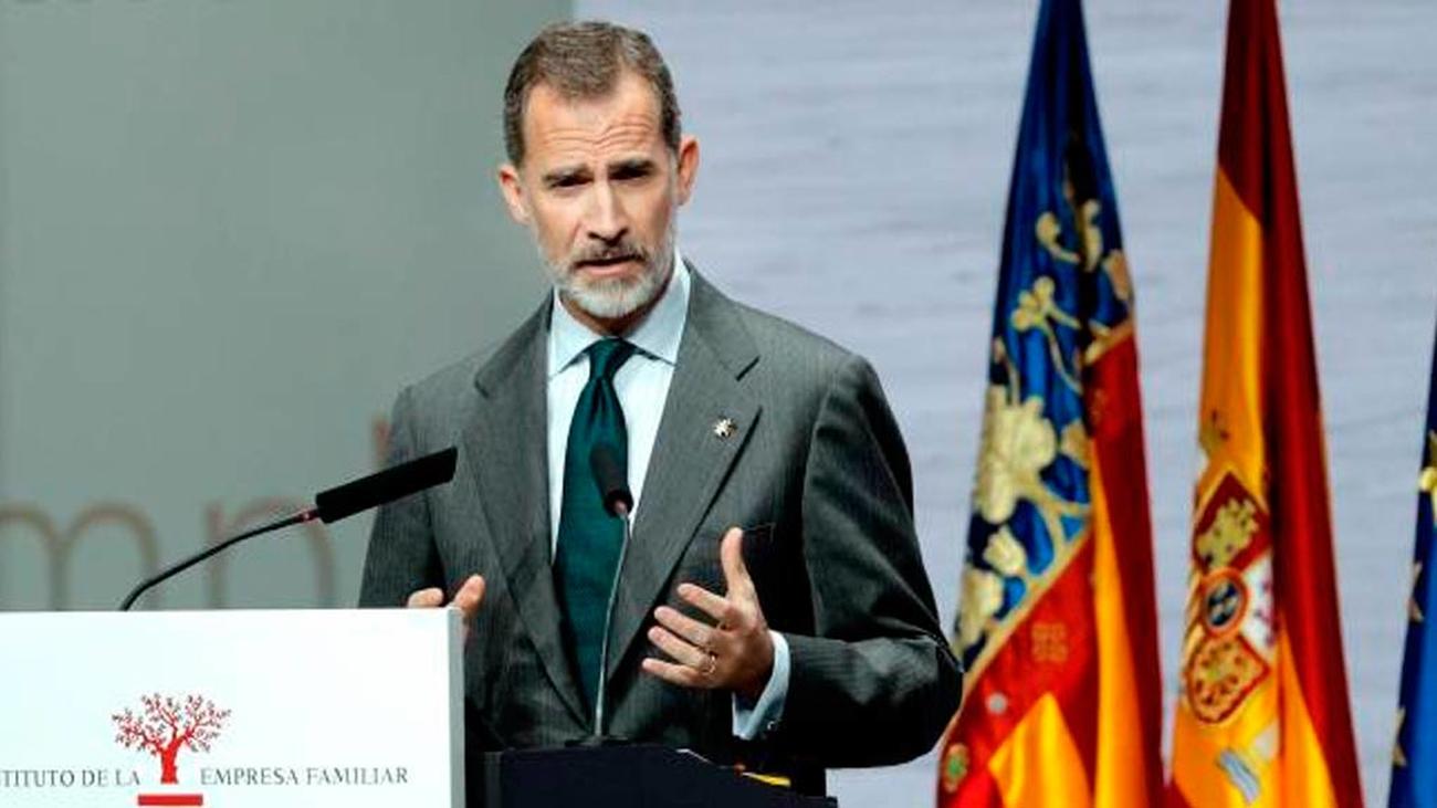 Felipe VI hace un llamamiento a preservar los valores de la Constitución