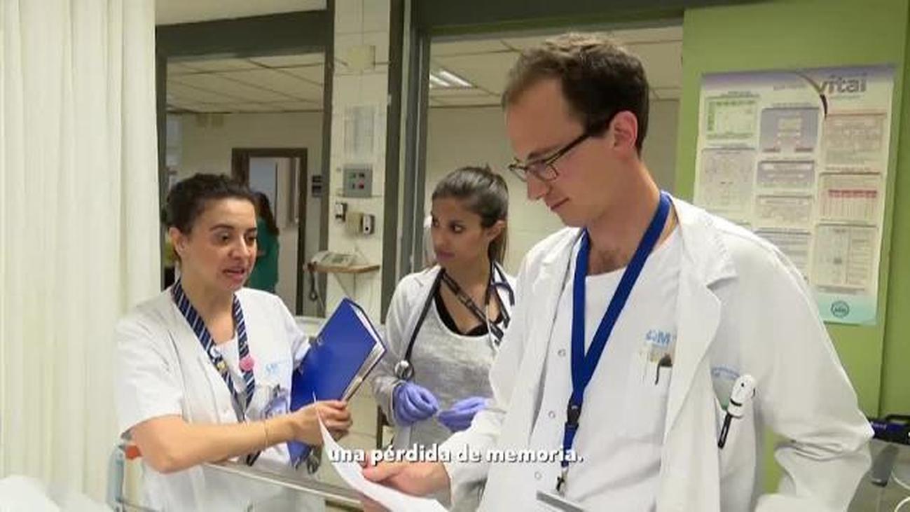 Un caso de amnesia global transitoria llega al Hospital  La Paz