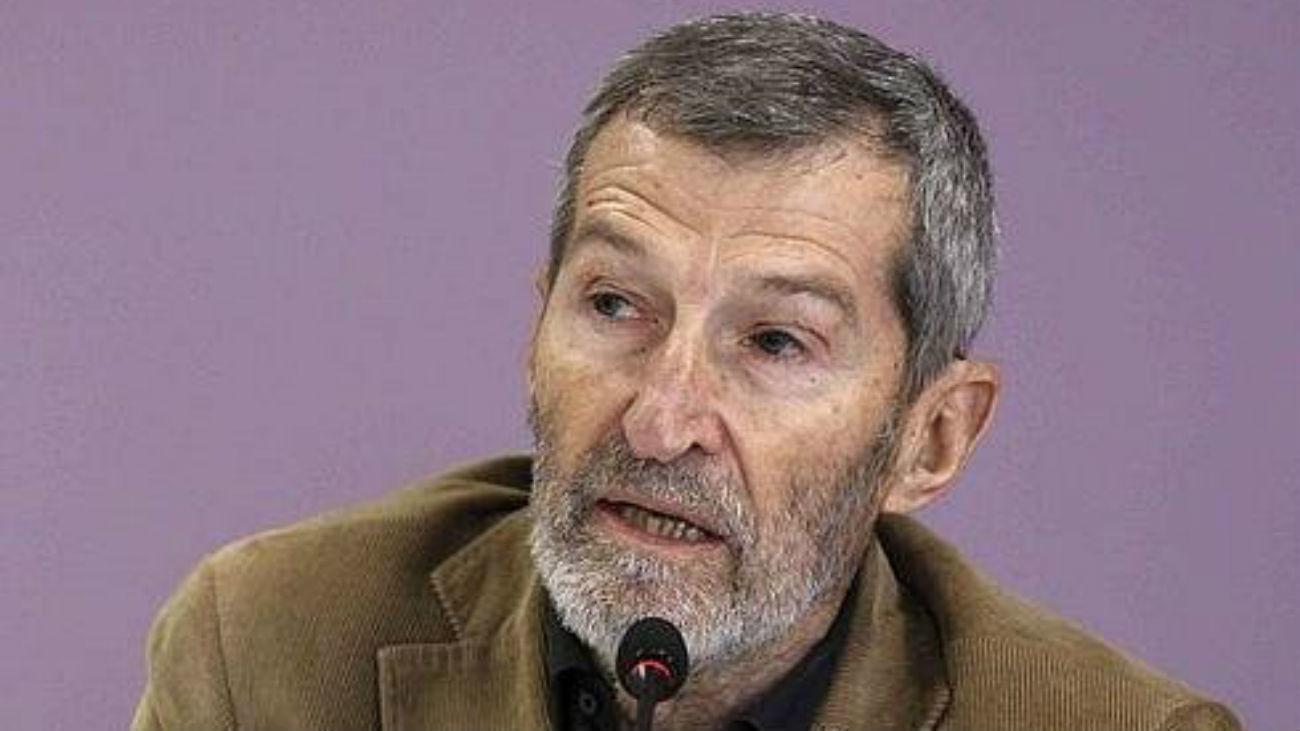 Julio Rodríguez , secretario general de Podemos Madrid