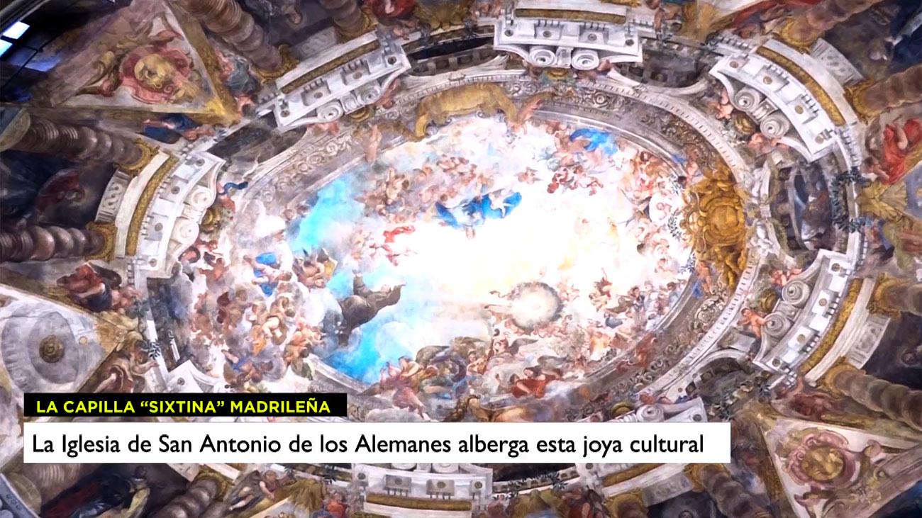 San Antonio de los Alemanes, una joya del barroco madrileño