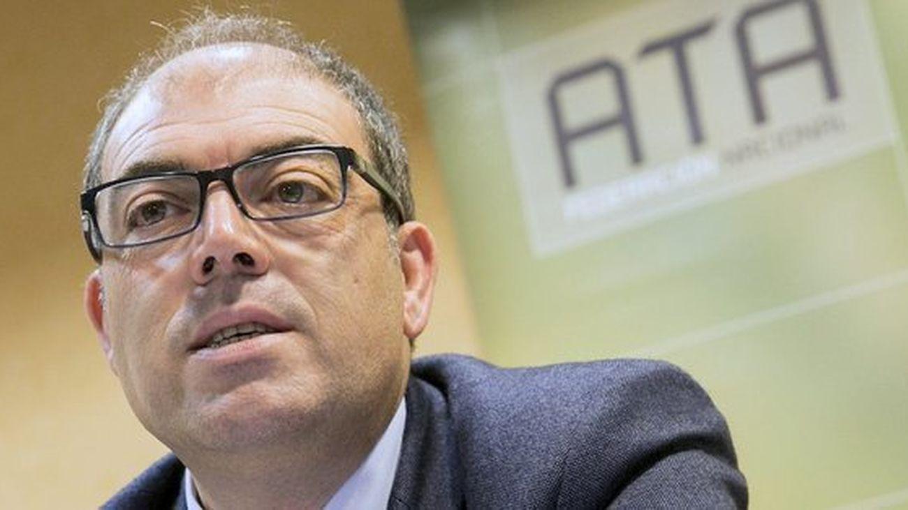 Lorenzo Amor, presidente de la Asociación de Trabajadores Autónomos