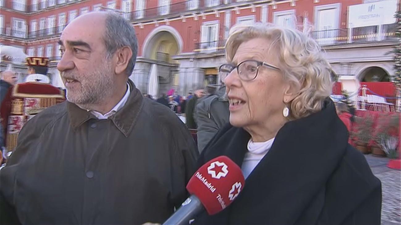 """Carmena aprecia """"una radicalización de posturas sobre Madrid Central"""""""