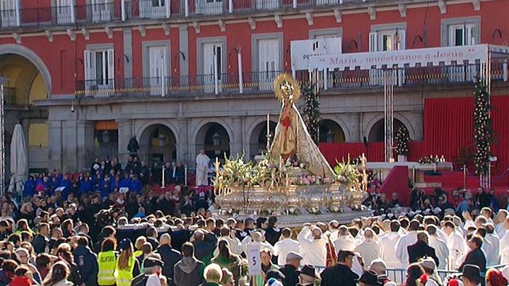 Misa en la Plaza Mayor, procesiones, música... Así celebrará Madrid el día de la Almudena