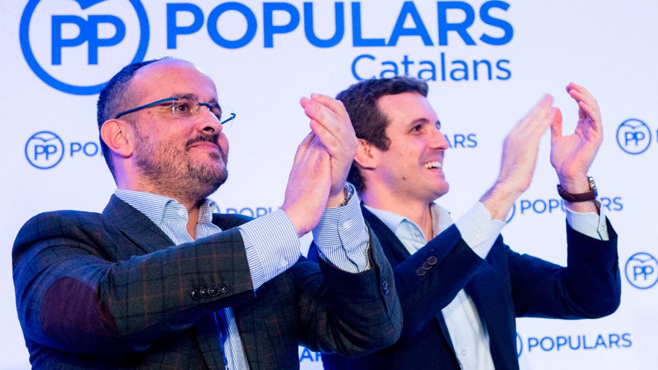 """Casado llama a recuperar el voto perdido del PP ante la """"amenaza nacionalista"""""""