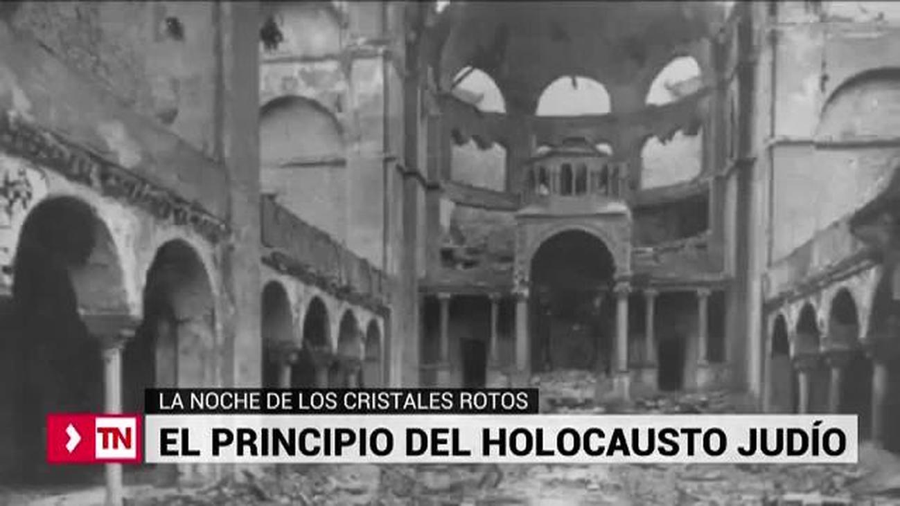Los pogromos del 9 de noviembre de 1938, anticipo del Holocausto