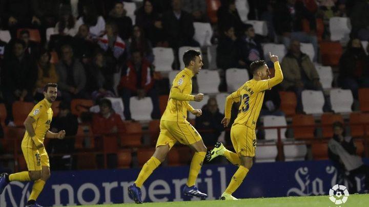 Así fue el gol de Borja Galán para el Alcorcón