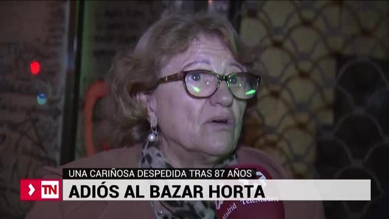 Adiós al mítico Bazar Horta, la juguetería del barrio de Salamanca