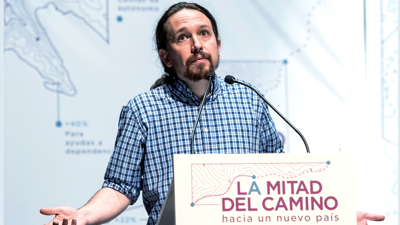 """Iglesias pide al PDeCAT y a ERC apoyar los PGE pese a la """"inmoralidad"""" de que haya presos"""